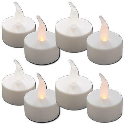 LED Teelicht Elektrische Flackernde Teelichter Kerze Flammenlose Kerze Batterie