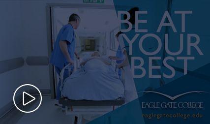 Nursing TV spot for Eagle Gate College by Epic Marketing. #nursing #tv #commercial #healthcare #advertising
