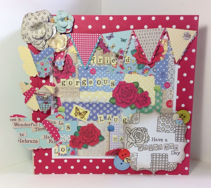 Card designed using the Bohemian Dreams Collection by Emma Smith
