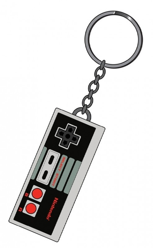 Nintendo Controller Rubber Keychain | Keychains | The A Factor Shop