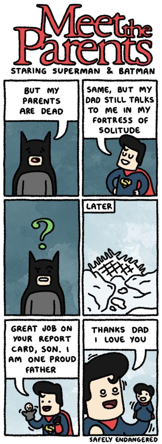 what comics did batman and superman meet