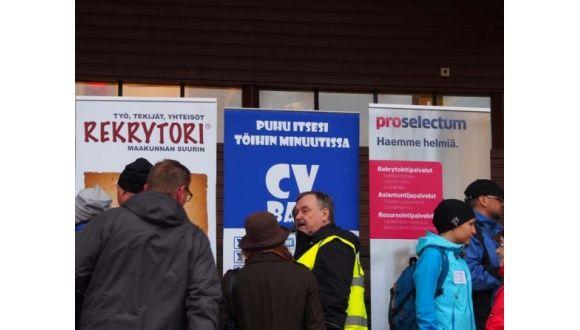 """Insinööriliiton verkkolehteen pyydetty artikkeli """"Reippaillen työnhakua"""", julkaistu 12.5.2014."""