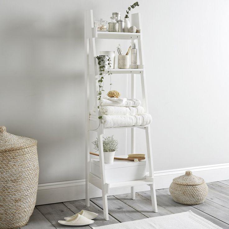 Bathroom Ladder Shelf The White Company