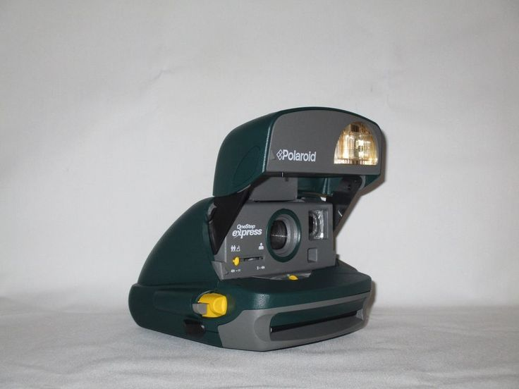 Polaroid One Step Express Hunter Green Camera - Tested & Working #Polaroid