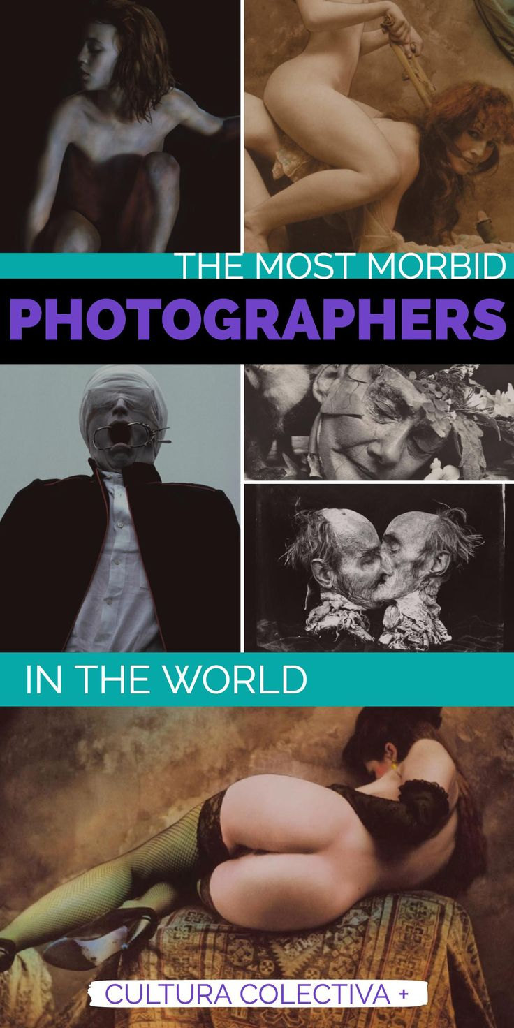 Dark and morbid famous photographers. Halloween special.