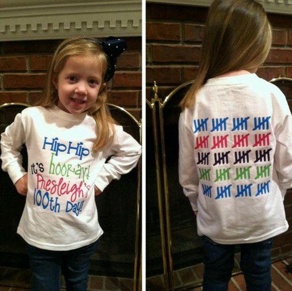 100th Day of School Shirt by embellishboutiquellc on Etsy