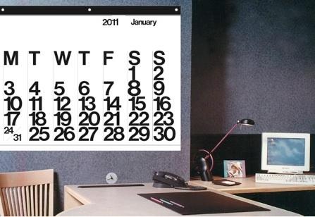 stendig calendar -- already looking forward to next year