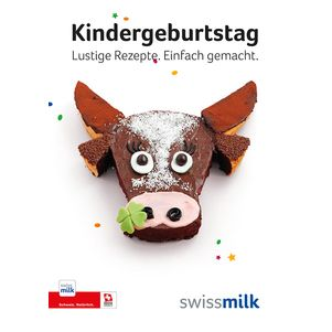 Broschüre Kindergeburtstag - Produkte - Swissmilk