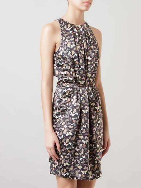 Cori Vestido De Seda Estampado - Cori - Farfetch.com