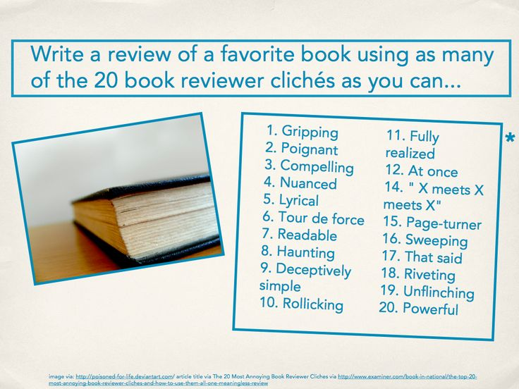 Book Review Writing Prompts - Book review writing prompts for high