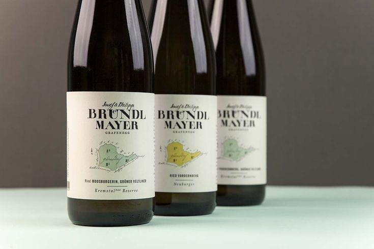 Weingut Bründlmayer: Weindesign – alessandridesign