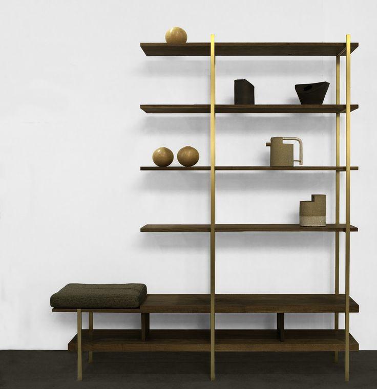 Interval Bookshelf by Asher Israelow