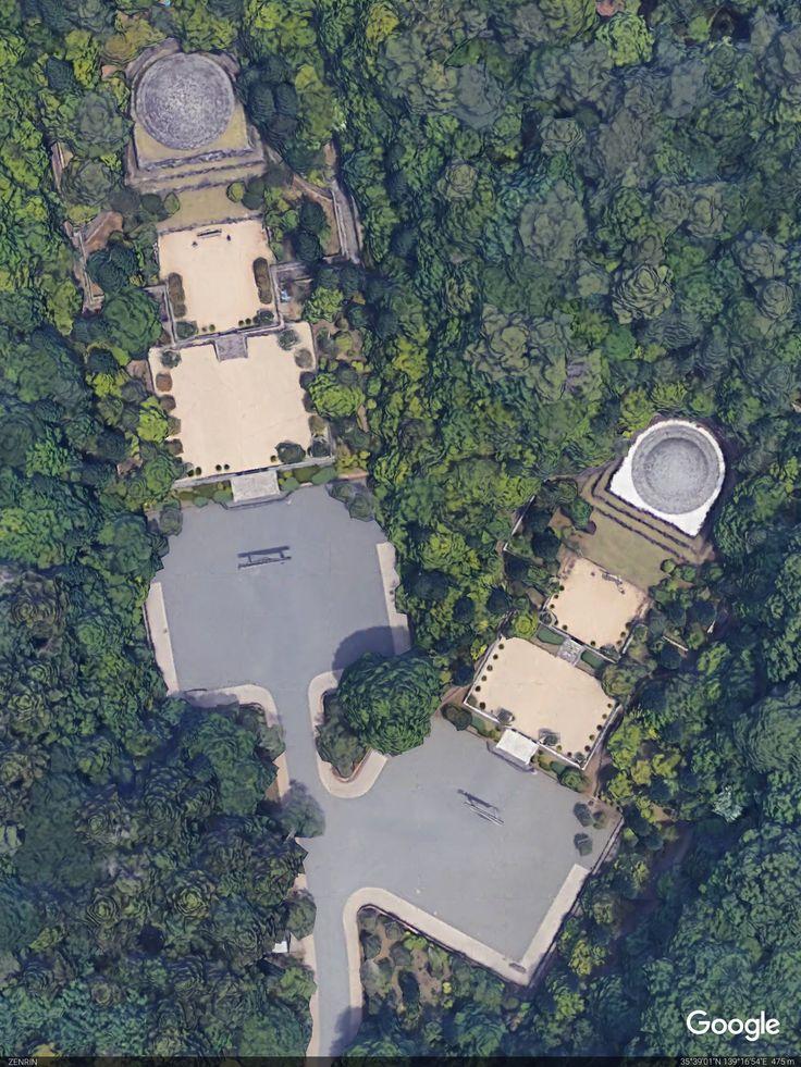 第百二十四代昭和(しょうわ)天皇御陵御写真