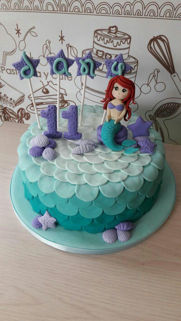 Mermaid cake! @dolcella_pastelería  Dolcellapasteleria.com