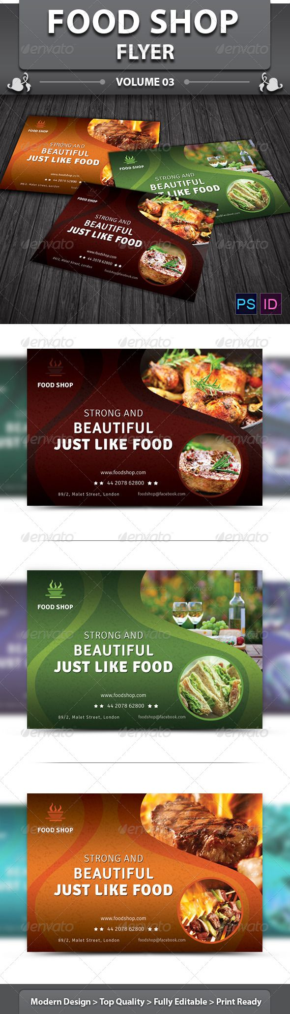 Restaurant Business Flyer | Volume 13 #meat tomato #Pepper banner  • Download here → https://graphicriver.net/item/restaurant-business-flyer-volume-13/5741815?ref=pxcr
