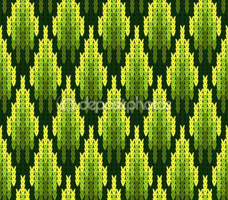 Dikişsiz örgü doku ile soyut desen — Stok Vektör © KateKu #98301450