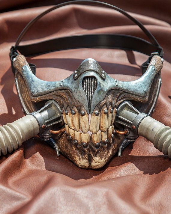 Immortan Joe Mask Replica by DappledLightStudio on Etsy