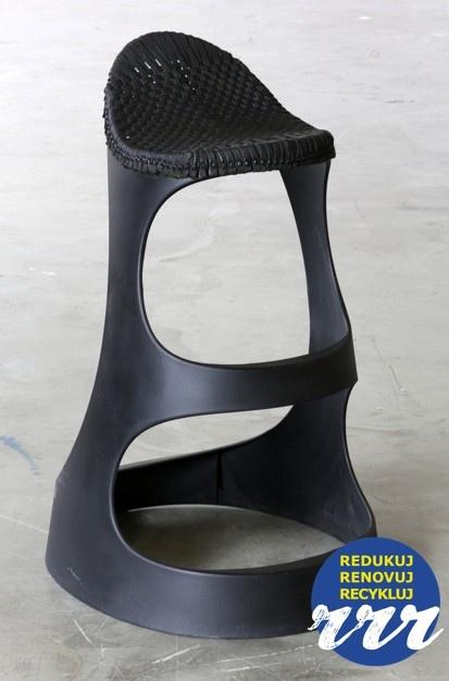 STUDIO VACEK: Barová stolička ALKOHOLIK Redukuj, renovuj, recykluj. www.3xr.cz