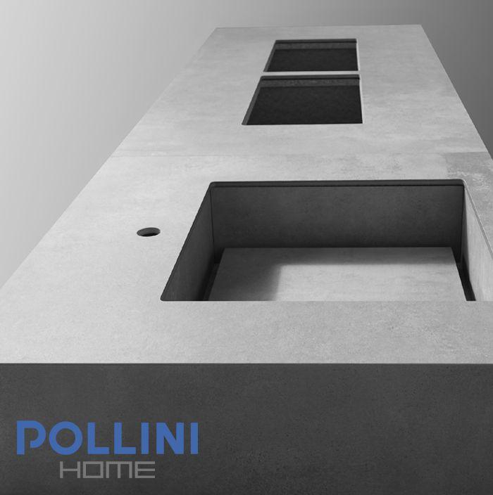 #minimal #ceramic #kitchen top | Top da #cucina in #ceramica