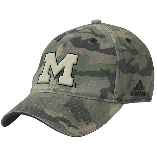 pure michigan baseball cap west whitecaps cards university camouflage ball western