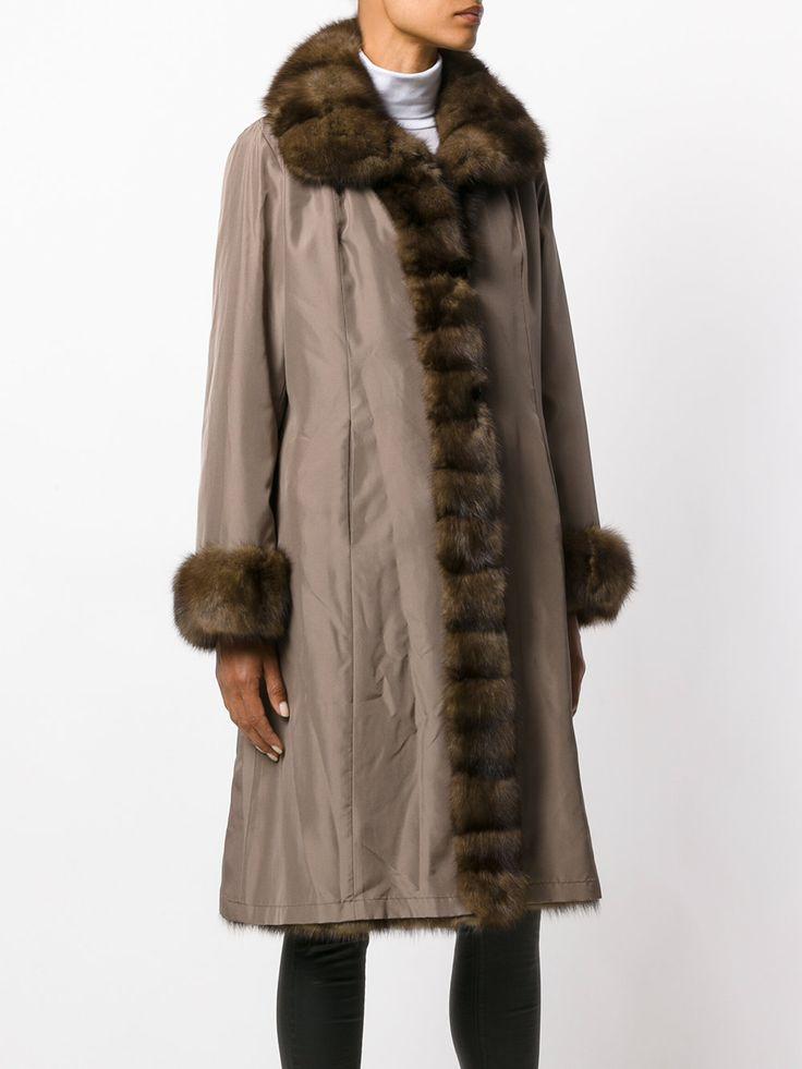 Liska пальто с контрастной меховой отделкой, пальто с мехом соболя, пальто с мехом куницы, пальто с мехом норки, пальто парка, пальто женское, Можно сшить индивидуально, по вашим меркам, в интернет-ателье Namaha3d. www.livemaster.ru/namaha WhatsApp +380983457224