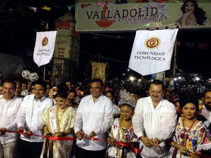 Inaugura Rolando Zapata Bello la Expo Feria Valladolid 2015