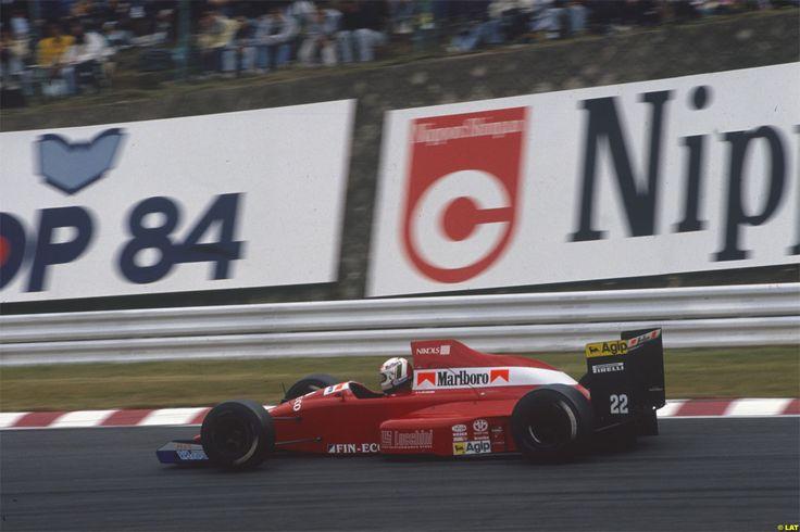 Andrea De Cesaris Dallara BMS 189 Suzuka 1989