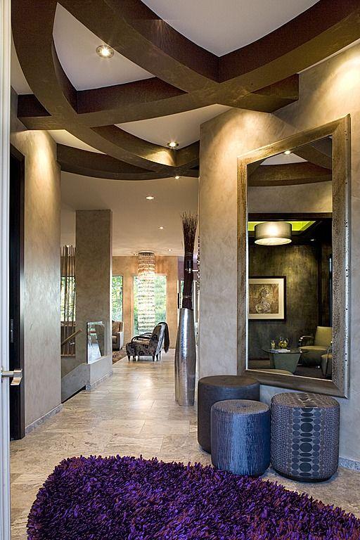 #InteriorDesign #Contemporary #Foyer; PURE Design
