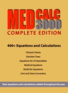 MedCalc 3000 is a collection of over 520 calculators, clinical criteria sets and decision trees that are indispensable to anyone practicing, teaching or studying evidence-based medicine. With every search you perform, STAT!Ref automatically presents links to relevant tools within MedCalc 3000. http://www.statref.com/titles/descriptions/medcalc.html
