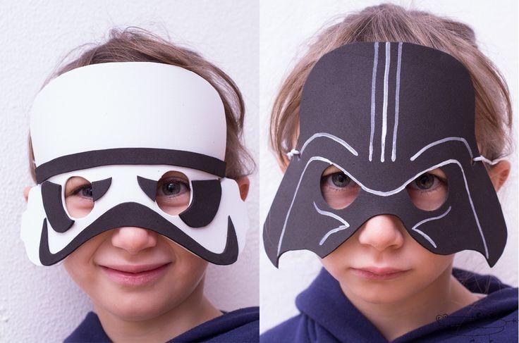 Máscaras de Star Wars