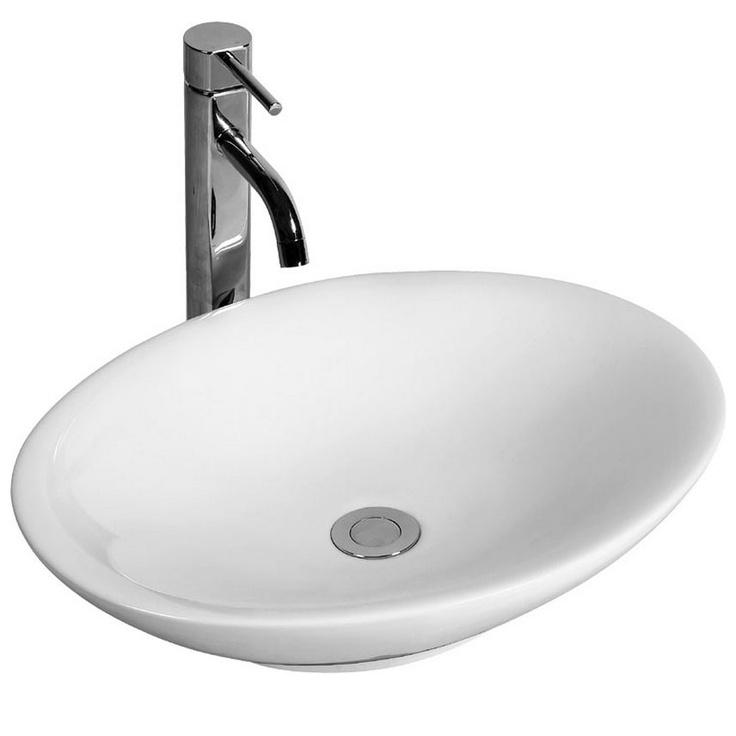 Geneva Oval Basin 500x375mm | Manufactured by Pura Fyori (L1454)