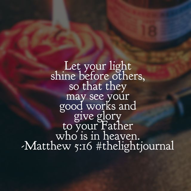 Giving glory to the Father this morning for the birth of his son and the hope for the future! May our lights shine for him today!#thelightjournal#biblereadingplan#biblereading