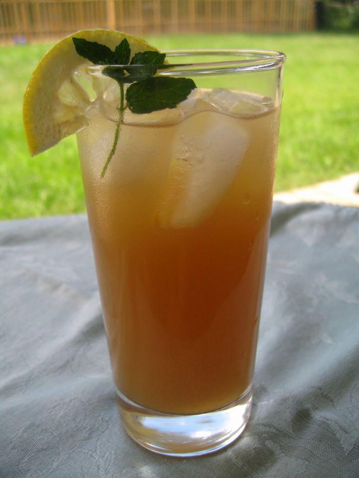 Catholic Cuisine: Honey Arnold Palmer - Refresher for St. Bernard Feast Day, August 20