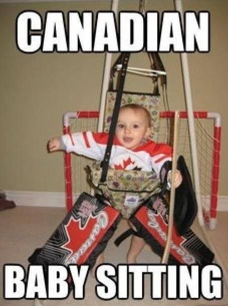 Canadian babysitting @Melanie Bauer Bauer Bauer Schimpf May just have to do this with Beans! Hahaha ;)