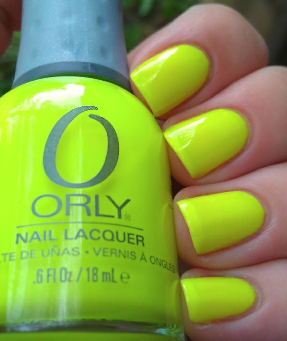 ORLY - Glowstick: Colors Trends, Summer Nails Colors, Summer Style, Beautiful Hair Nails Makeup, Hair Nails Fac, Add Neon, Summer Nail Colors, Color Trends, Fingah Nails