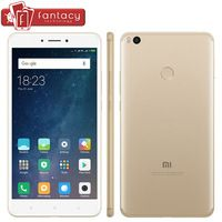 "New Original Xiaomi Mi Max 2 Max 2 5300mAh 4GB 128GB Snapdragon 625 Octa Core Smartphone 6.44"" 1080P 12MP Fingerprint ID MIUI 8"