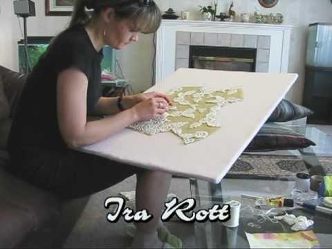 videos series: irish crochet tutorials from Ira Rott (playlist)