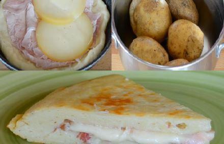 L'omelette de patate à l'italienne  (« tortilla de patata ») : un goût unique !!
