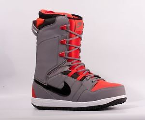 Nike Vapen Charcoal Black Chilling Red White Snowboard Boots 2013