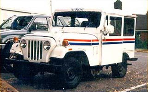 Mail Delivery Jeeps.  I drove one of these for years.  The right hand driving never bothered me.  JKR