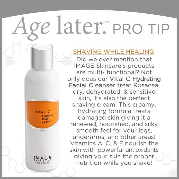 Vital C cleanser van Image Skincare, hydraterende reiniging