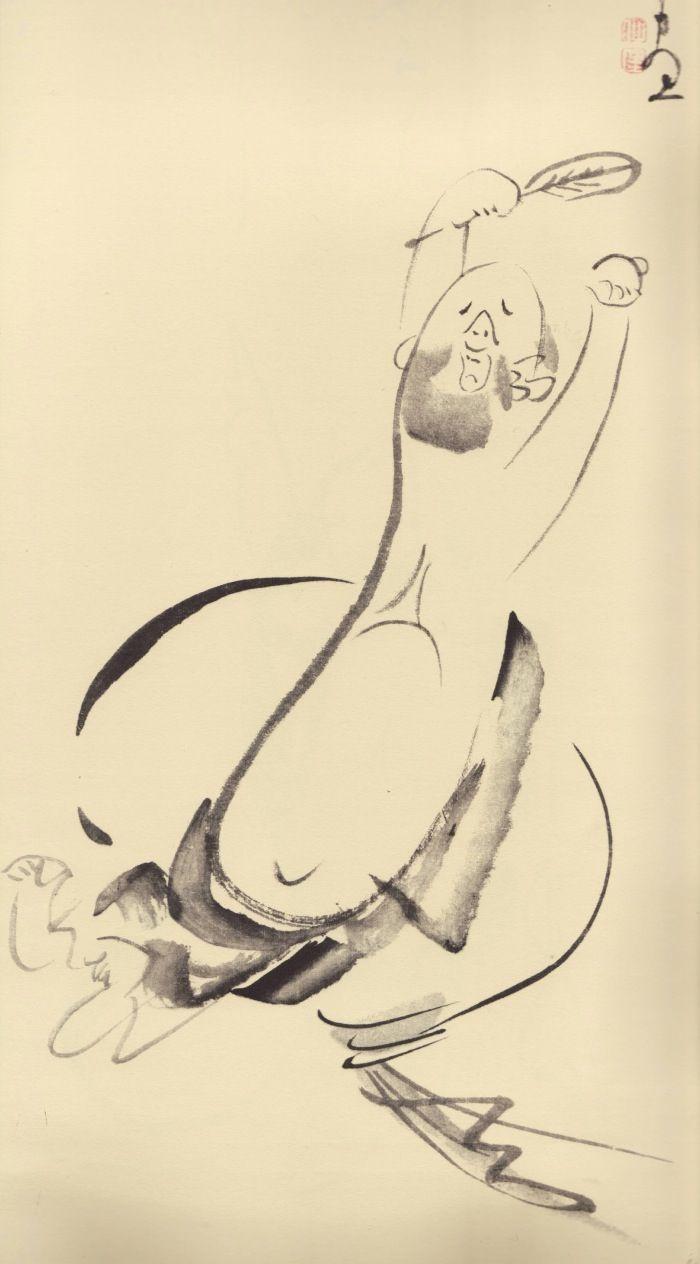 Hotei by Sengai Gibon