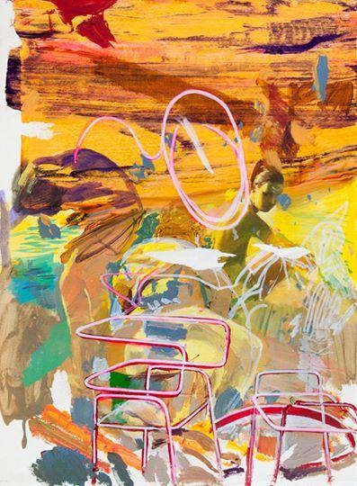 Sneak peek_12 Giuseppe Gonella, Mente locale #02 2014, Acryl und Marker auf Papier Acrylic and marker on paper, 37,5 x 28 cm