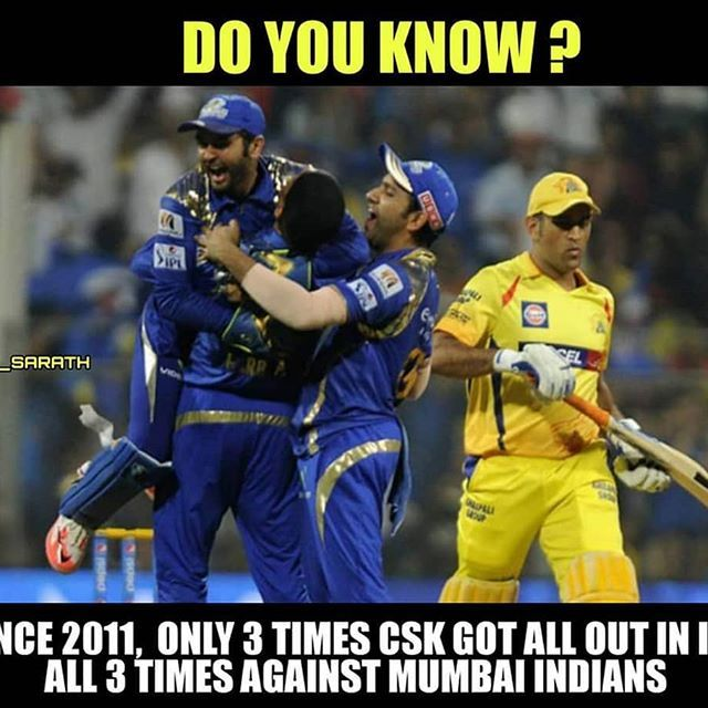 Image May Contain 3 People Meme And Text Mumbai Indians Mumbai Indians Ipl Chennai Super Kings