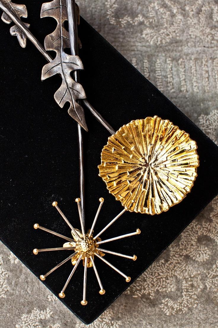 Dandelion serving set by Michael Aram