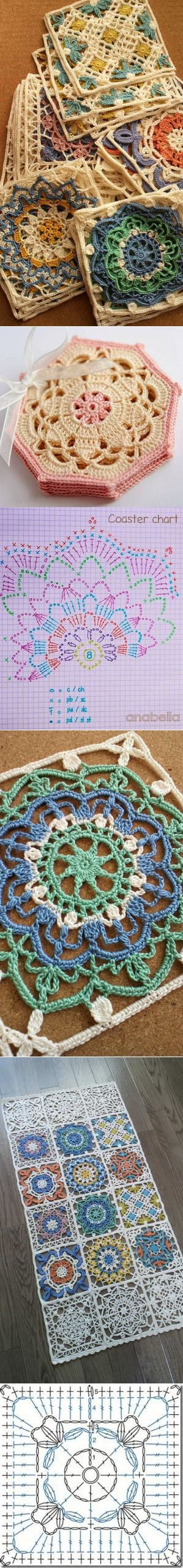 Crochet Turkish Tiles