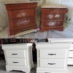Comment Repeindre un meuble en bois   12 Jolies idées de peinture avant et après