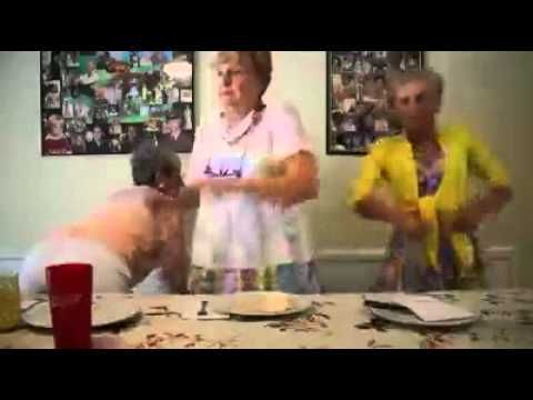 Old lady Twerk Team - YouTube @Destiny Bowe  @Clara Ann  this will be us in 55 years loolol