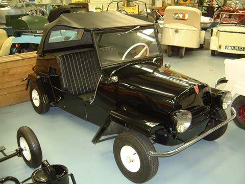 King Midget Porn - 1956 King Midget Series II. Resembled the Jeep with its square-cornered  fenders.