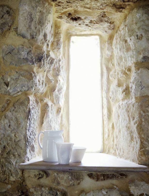 Dordogne, France » Stone window